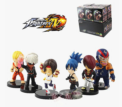 Set of 6 Pieces The King of Fighters Toy Figure Doll Vol.2 New in Box