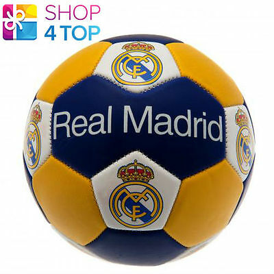 Real Madrid Nuskin Size 3 Ball 31 Panel Official Football Soccer Club Team New