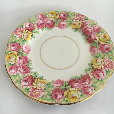 Royal Stafford Roseanne Side Plate Roses  Garden Party