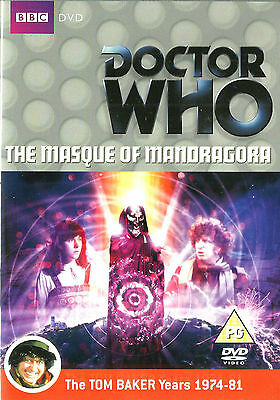 Dr Who – 4th Dr The Masque of Mandragora New but UNSEALED Regions 2 + 4 (Either)