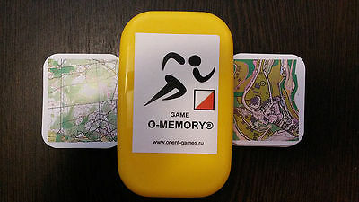 Game O-Memory for sport orienteering and geocaching