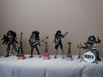 KISS Psycho Circus Tour Edition Action Figures Set of 4