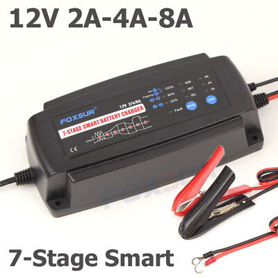 """VMAX BC1204 3.3Amp 4-Stage 12V /""""Smart/"""" Maintainer//Tender for MERCEDES Battery"""
