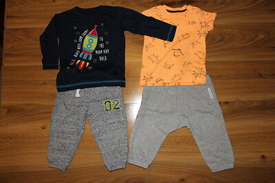 NEXT F&F Matalan Dunnes boys top jogger bundle 9-12 months *I'll combine postage