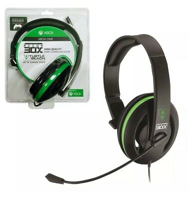 Xbox One PS4 Turtle Beach Ear Force Recon 30X Wired Chat Headset FREE EXPRESS PO