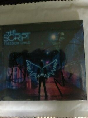 The Script - Freedom Child sealed and signed Deluxe CD version