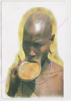 CPM AFRIQUE AFRICA ETHIOPIE ETHIOPIA SOUTHERN MURSI Woman with a lip plate