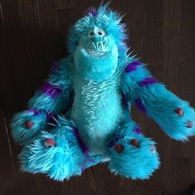 """Disney Pixar Monsters Inc. University Large 16"""" Sulley Plush Toy Just Play"""