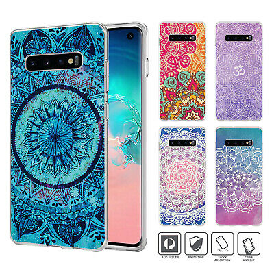 Mandala Bumper Case Cover For Samsung Galaxy S10 e 9 8 7 6 5 Edge Plus Note 01