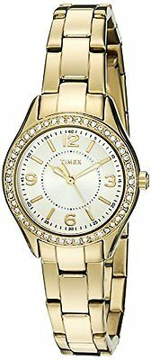 Timex TW2P801009J Womens Miami Mini Analog Display Quartz Gold-Tone