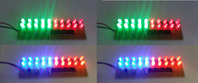 4pcs LED Array Board 20 LED Assembled PCB Strobe Flash Light Effect 9V Battery