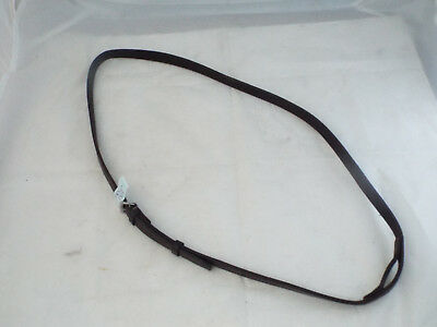 Brown Leather Martingale Neck Strap