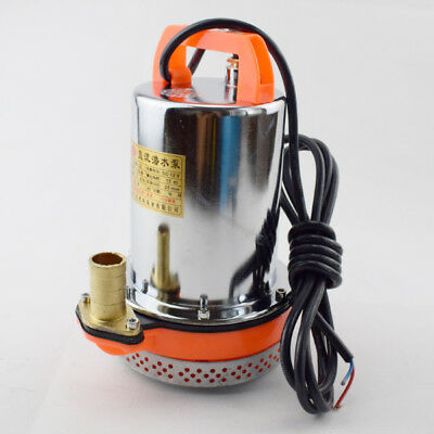 12V Farm & Ranch Solar Powered Submersible DC Water Well Pump 26FT Lift Hot Sale