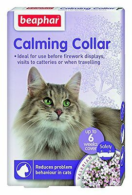 Beaphar Calming Collar for Cats Reduces Stress Problem Behaviour in Cats