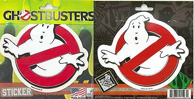 Ghostbusters Ghost Busters Vinyl Car Sticker Decal 5 1/2 x 4 3/4  QTY 2 stickers