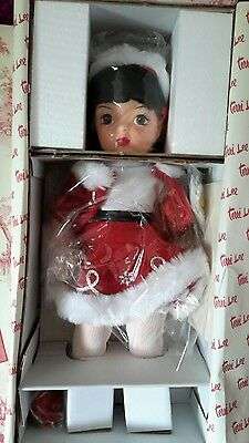 "16"" TERRI LEE HOLIDAY SKATER DOLL w/ ICE SKATES Knickerbocker NIB"