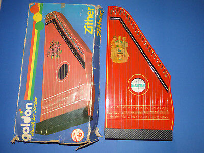 VINTAGE ZITHER PHONOHARP MADE IN GERMANY '60s BOXED RARE!