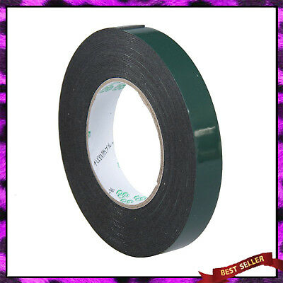 20 mm 5m Black Super Strong Permanent Double Sided Car Trim Body Tape