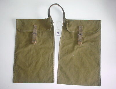 GERMAN ARMY WW2 REPRO RIFL. Gr. CARRY POUCH 2ND PATERN INV# Q   Rbnr marked