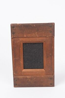 Vintage Wooden Contact Printing Frame for Quarter plate on half plate