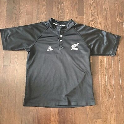 New Zealand All Blacks Rugby adidas Jersey Mens Size M