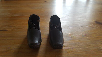 Antique Child's Leather clogs