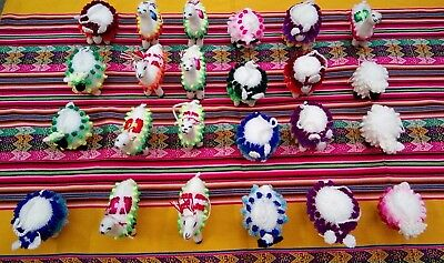 500 handmade andean animals, beers and alpacas,  4 inches approx.