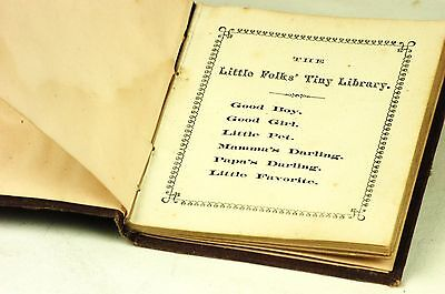 The Little Folks' Tiny Library Miniature Book 1871 Pub. Henry A. Young & Co.