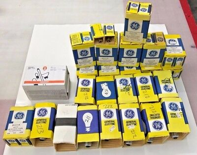 Enlarger Bulbs PH212 PH111A PH211 PH213 PH140 - Lot of 86 bulbs NOS