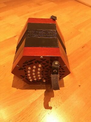 30 button Anglo- Concertina