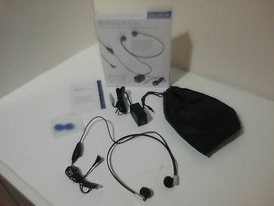 Flexfone FLX-10 Transcription Headphone & FlexiPort headphone Connector NEW
