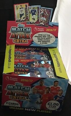 EPL Match Attax Extra 2016/17 - Trading Cards - Booster Packs (UK) - Various Qty