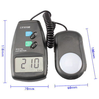 New Digital Luxmeter Light Meter LX-1010B with LCD Display - Range up to 50,000