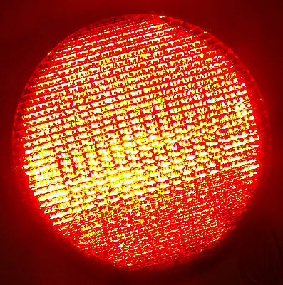 GE Red LED DR 6 Traffic Light 12 Inch