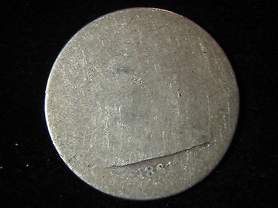 1861 Liberty Seated Quarter 25c - 90% Silver