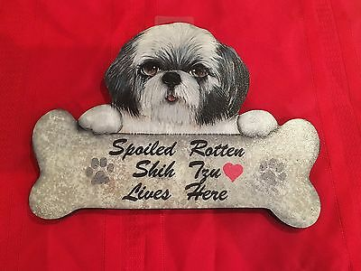 Shih Tzu Sign and Picture frame