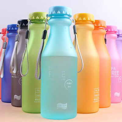 550MLPortable Leakproof Sport Water Bottle Cycling Travel Healthy Drinking Cup