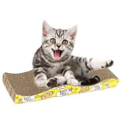 Pet Cat Kitten Corrugated Scratch Board  Mat Scratcher Bed Pad Claws Care Toys