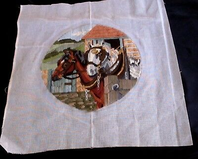 Longstitch - Horses In Stables -Completed