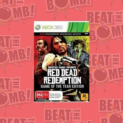 Red Dead Redemption Goty  - Xbox 360 game - BRAND NEW