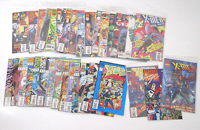 Vtg 1993 Modern Age Marvel Comic lot 36 X-Men 2099 Near Complete Run w/3 Special