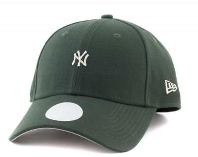 Women New York Yankees New Era MLB Team 9Forty Hat Genuine Merchandise Cap Green