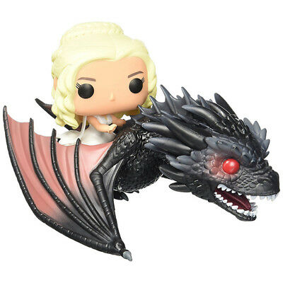 Funko POP Rides Game of Thrones Dragon & Daenerys Action Figure Resin Toy