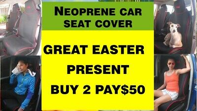 Car Seat Cover Neoprene Trades, Sport, Gym And Surfers