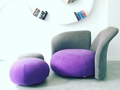 Unique Funky Design Modern Longue Chair Armchair ' Pin up ' by FEG Italy