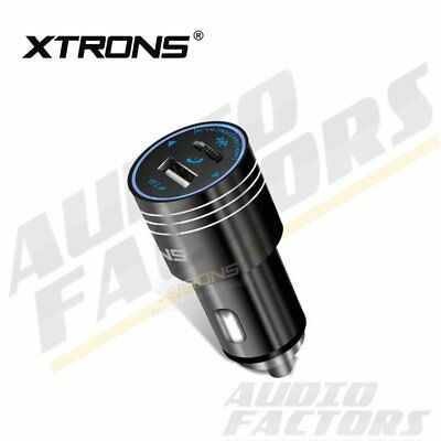 XTRONS Bluetooth Wireless FM Transmitter USB Charger Car Kit MP3 Music Player