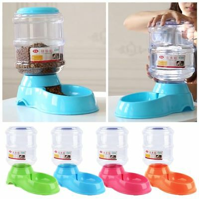 3.5L Pet Dog Cat Automatic Water Dispenser Feeder Bowl Bottle Food Device -AU