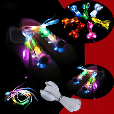 Light Up Shoelaces LED Laces 3 Modes Strap Party Flashing Shoe Nylon Shoelace