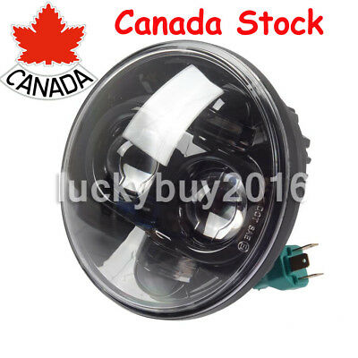 5-3/4 5.75'' inch Daymaker Projector LED Headlamp Headlight Black Harley Dyna