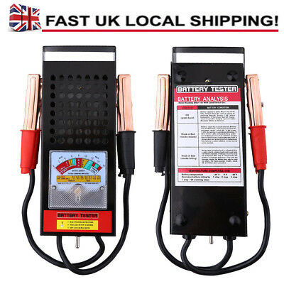 12V 100A Car Van Battery Load Drop And Charging System Tester Analyzer Selling
